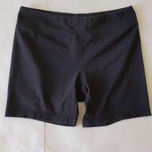 Danskin NOW Form-Fitting Bike Shorts Black Size M